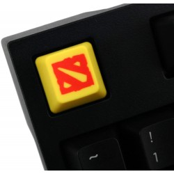 Dota 2 PBT Keycap (Red on Yellow)